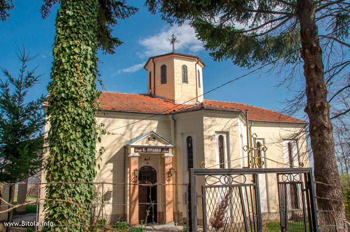 Sv Nikola Church Lavci village near Bitola