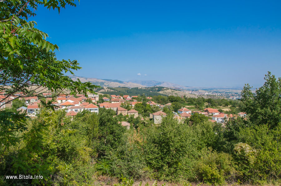 Bukovo village near Bitola, Macedonia