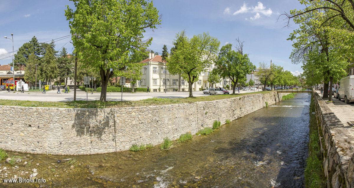 Dragor River Bitola, Macedonia